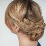 تسريحة شعر قصير بسيطة للسهرة جميلة 2014 ،اجمل تسريحة شعر قصير بسيطة للسهرة 2014