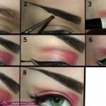 طريقة عمل مكياج عيون مميز