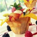طريقة عمل الآيس كريم بالفاكهة من منال العالم