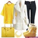 مجموعة من أشيك أزياء و ملابس شتاء 2015 لك سيدتي