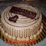 طريقة عمل وتزيين الكيك  الاسفنجية