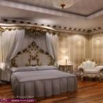 غرف نوم كلاسيكية شكلها يجنن بالصور 2014