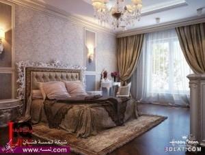 صور دهانات غرف نوم مودرن , تصاميم وديكورات غرف نوم جديده