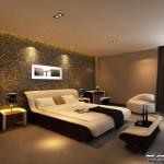 غرف نوم عصرية مودرن 2014