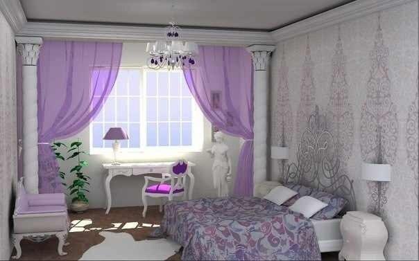 ديكورات غرف نوم للعرسان 14 غرفة نوم عرسان مودرن بألوان راقية جداً 2015