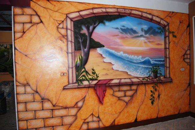 126704.almuhands.org  جداريات   رسم على الجدران ونحت جدارى بارز