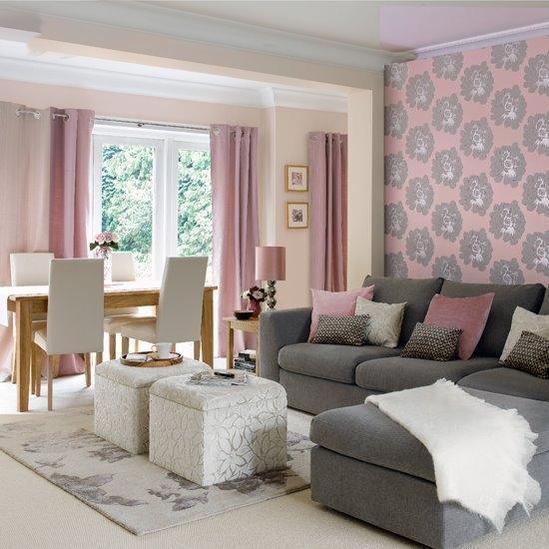9fa390afa8c53ba6b5b4be95bb215228  تصميمات لغرف وردية اللون