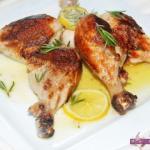 طريقة عمل أفخاد الدجاج بالليمون وإكليل الجبل | طبخات رمضان 2015