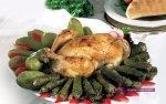 محشى ورق العنب والكوسة مع دجاج بالخلطة