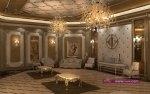 مجموعة من الجدران والأسقف الرائعة جبسيات خيالية