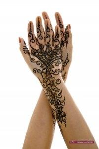 Art of Mehndi designs3 200x300 نقوش حناء عيد الفطر 2015 جديده وموضات متعددة