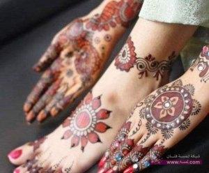 Best Arabi Eid Mehndi Designs For Girls 2014 1 2 300x248 نقوش حناء عيد الفطر 2015 جديده وموضات متعددة