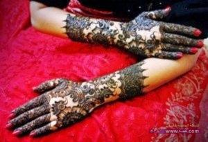 Best Arabi Eid Mehndi Designs For Girls 2014 4 300x205 نقوش حناء عيد الفطر 2015 جديده وموضات متعددة