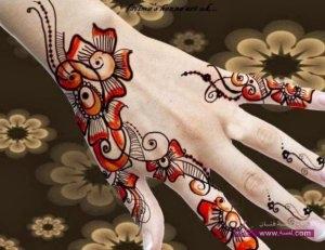 Best Arabi Eid Mehndi Designs For Girls 2014 6 300x231 نقوش حناء عيد الفطر 2015 جديده وموضات متعددة