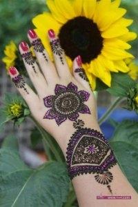Best Arabi Eid Mehndi Designs For Girls 2014 8 200x300 نقوش حناء عيد الفطر 2015 جديده وموضات متعددة