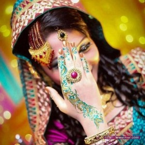Best Bridal Mehndi Designs of 2013 for Pakistani Indian Brides 2014 2 300x300 نقوش حناء عيد الفطر 2015 جديده وموضات متعددة