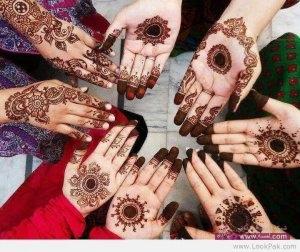 Best Bridal Mehndi Designs of 2013 for Pakistani Indian Brides 2014 6 300x252 أكبر مجموعة صور نقش حناء عربي و هندي و باكستاني حديث و متنوع 2016