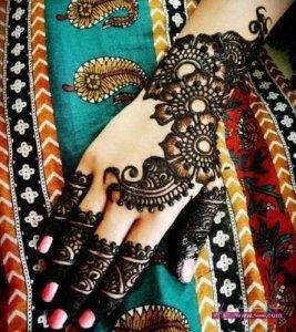 Chand Raat Eid special Mehndi Design 2015 13 267x300 أكبر مجموعة صور نقش حناء عربي و هندي و باكستاني حديث و متنوع 2016