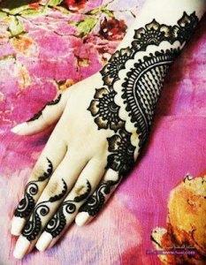 Chand Raat Mehndi Designs 2014 Free Download 7 233x300 أكبر مجموعة صور نقش حناء عربي و هندي و باكستاني حديث و متنوع 2016