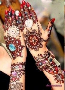 HD wallpapers henna design Bridal Mehndi8 216x300 أكبر مجموعة صور نقش حناء عربي و هندي و باكستاني حديث و متنوع 2016