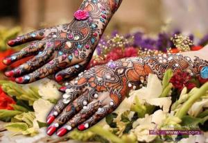 Latest Chand Raat Mehndi Designs 2013 14 5 300x206 أكبر مجموعة صور نقش حناء عربي و هندي و باكستاني حديث و متنوع 2016