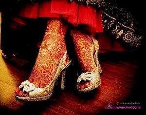 New Arabian and Italian Mehndi designs for bridals 2013 14 brides 1 300x236 أكبر مجموعة صور نقش حناء عربي و هندي و باكستاني حديث و متنوع 2016