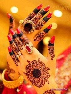 New Arabian and Italian Mehndi designs for bridals 2013 14 brides 9 227x300 أكبر مجموعة صور نقش حناء عربي و هندي و باكستاني حديث و متنوع 2016