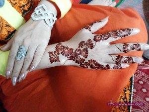 Selected Bridal Mehndi Designs for Christmas Wedding New Year 2014 19 300x225 أكبر مجموعة صور نقش حناء عربي و هندي و باكستاني حديث و متنوع 2016