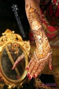 Selected Bridal Mehndi Designs for Christmas Wedding New Year 2014 8 200x300 أكبر مجموعة صور نقش حناء عربي و هندي و باكستاني حديث و متنوع 2016