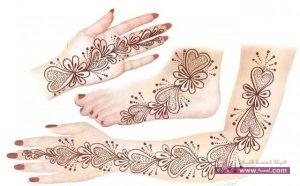 Stylish Bridal Mehndi Design 2014 for Wedding Parties 9 300x186 أكبر مجموعة صور نقش حناء عربي و هندي و باكستاني حديث و متنوع 2016