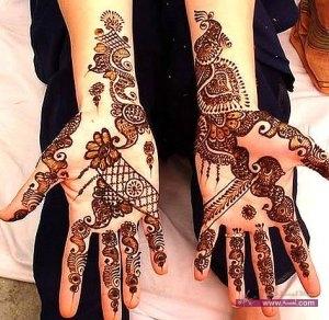 Stylish Colorful Eid Ul Fitr Mehndi Design 2014 for Girls 10 300x292 أكبر مجموعة صور نقش حناء عربي و هندي و باكستاني حديث و متنوع 2016