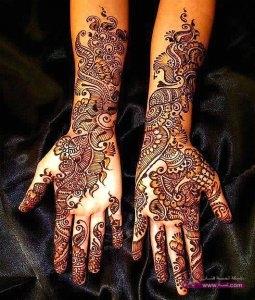 Stylish Colorful Eid Ul Fitr Mehndi Design 2014 for Girls 12 255x300 أكبر مجموعة صور نقش حناء عربي و هندي و باكستاني حديث و متنوع 2016