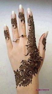 Stylish Colorful Eid Ul Fitr Mehndi Design 2014 for Girls 13 169x300 أكبر مجموعة صور نقش حناء عربي و هندي و باكستاني حديث و متنوع 2016