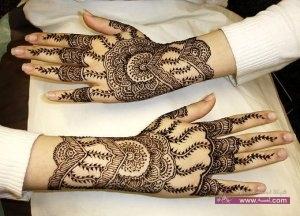 Stylish Colorful Eid Ul Fitr Mehndi Design 2014 for Girls 14 300x216 أكبر مجموعة صور نقش حناء عربي و هندي و باكستاني حديث و متنوع 2016