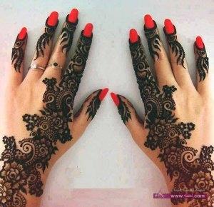 Stylish Colorful Eid Ul Fitr Mehndi Design 2014 for Girls 19 300x290 أكبر مجموعة صور نقش حناء عربي و هندي و باكستاني حديث و متنوع 2016