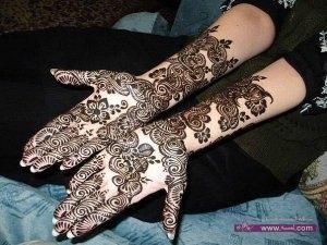 Stylish Colorful Eid Ul Fitr Mehndi Design 2014 for Girls 2 300x225 أكبر مجموعة صور نقش حناء عربي و هندي و باكستاني حديث و متنوع 2016