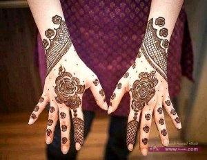Stylish Colorful Eid Ul Fitr Mehndi Design 2014 for Girls 21 300x231 أكبر مجموعة صور نقش حناء عربي و هندي و باكستاني حديث و متنوع 2016
