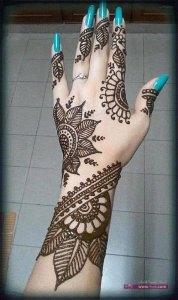 Stylish Colorful Eid Ul Fitr Mehndi Design 2014 for Girls 25 178x300 أكبر مجموعة صور نقش حناء عربي و هندي و باكستاني حديث و متنوع 2016