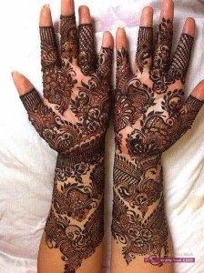Stylish Colorful Eid Ul Fitr Mehndi Design 2014 for Girls 26 224x300 أكبر مجموعة صور نقش حناء عربي و هندي و باكستاني حديث و متنوع 2016