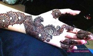 Stylish Colorful Eid Ul Fitr Mehndi Design 2014 for Girls 3 300x181 أكبر مجموعة صور نقش حناء عربي و هندي و باكستاني حديث و متنوع 2016