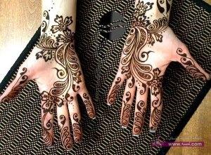 Stylish Colorful Eid Ul Fitr Mehndi Design 2014 for Girls 5 300x221 أكبر مجموعة صور نقش حناء عربي و هندي و باكستاني حديث و متنوع 2016