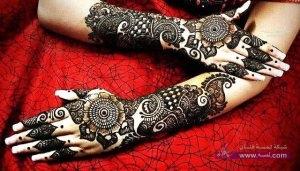 Stylish Colorful Eid Ul Fitr Mehndi Design 2014 for Girls 6 300x171 أكبر مجموعة صور نقش حناء عربي و هندي و باكستاني حديث و متنوع 2016