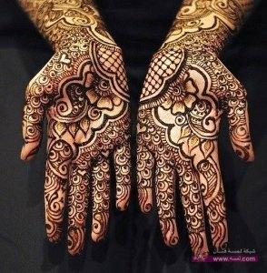 Stylish Colorful Eid Ul Fitr Mehndi Design 2014 for Girls 8 294x300 أكبر مجموعة صور نقش حناء عربي و هندي و باكستاني حديث و متنوع 2016