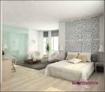 اجدد صيحات غرف نوم عصرية ديكورات غرف نوم بالوان هادئة 2015