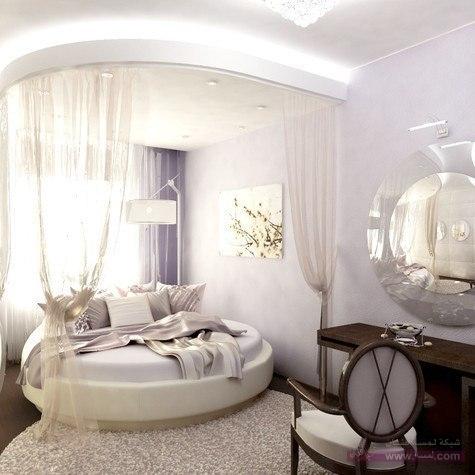 ديكورات غرف نوم للعرسان 22 غرف نوم بالوان جديدة 2015  للعرسان احدث غرف النوم الشيك2016