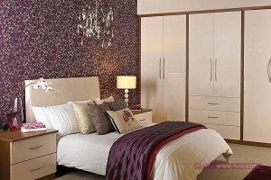 ديكورات غرف نوم للعرسان 6 300x200 أحدث ديكورات غرفه النوم تتسم بالأناقه و التميز في التصميم  و روعة المنظر و جمال الألوان