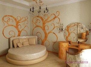 ديكورات غرف نوم للعرسان 7 300x220 أحدث ديكورات غرفه النوم تتسم بالأناقه و التميز في التصميم  و روعة المنظر و جمال الألوان