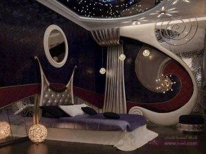 ديكور غرف نوم11 300x225 غرف نوم بالوان جديدة 2015  للعرسان احدث غرف النوم الشيك2016