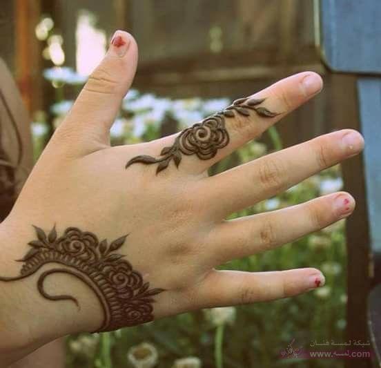 Eid Mahndi Design51 نقوش حناء هندية 2015 اجمل نقوش حناء جديدة 2016