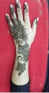 Khaleeji Henna Mehndi Designs 7 11 158x300 نقوش حناء هندية 2015 اجمل نقوش حناء جديدة 2016